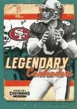 2013 Panini Contenders Steve Young Legendary