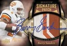 2014 Upper Deck Quantum Barry Sanders