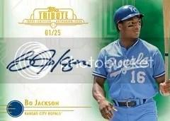2014 Topps Tribute Bo Jackson Autograph