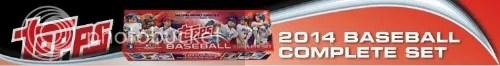 2014 Topps Baseball Factory Set