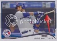 2014 Topps Series 1 Jose Bautista Sparkle