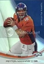 2013 Topps Platinum Peyton Manning