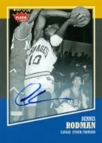 2013-14 Fleer Retro Dennis Rodman Autograph