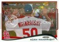 2014 Topps Series 1 Adam Wainwright Sp
