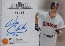 2014 Topps Tribute Will Clark
