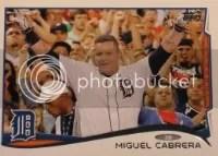2014 Topps Series 1 Miguel Cabrera