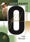 2014 Sp Game Used Tiger Woods Letter