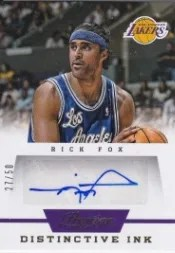 13/14 Panini Prestige Distinctive Ink Rick Fox