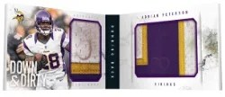 2013 Panini Playbook Adrian Peterson Book Card
