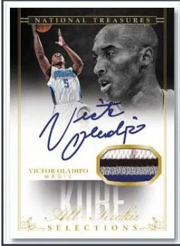 13/14 Panini National Treasures Kobe Bryant All-Rookie Team Victor Oladipo
