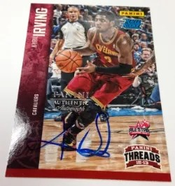 2014 Panini Fathers Day Kyrie Irving Auto
