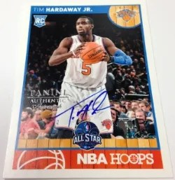 2014 Panini Father's Day NBA Hoops Autograph Tim Hardaway Jr.