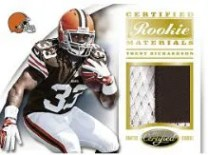 2012 Certified Trent Richardson Materials