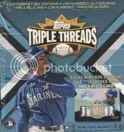 2012 Topps Triple Threads Box