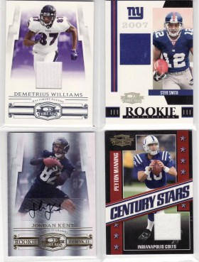 2007 Donruss Threads Box Hits