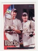 2010 Topps Baseball Arizona Diamondbacks