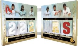 2010 Topps Tribute Franchise Feats Relic Red Sox