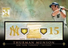 2010 Thurman Munson Tribute Relic Card