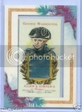 George Washington Allen & Ginter DNA Card