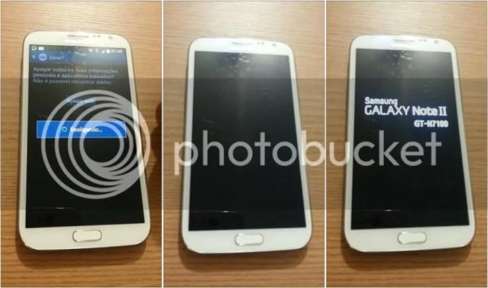 Formatando Galaxy Note II - Passo 06