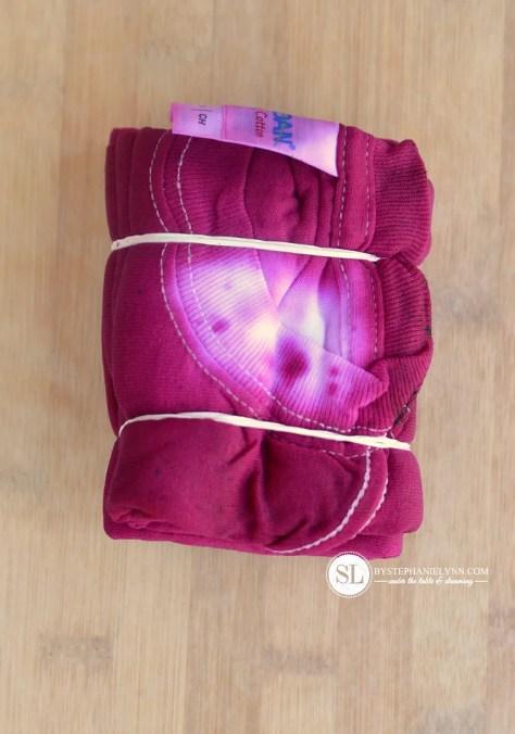 Accordion Block Tie Dye Design