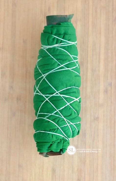 Tube Scrunch Tie Dye Technique