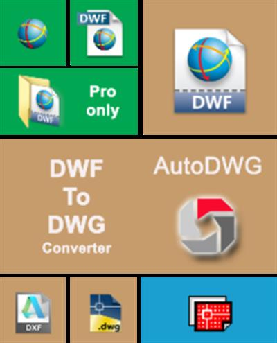 DWF to DWG Converter Pro 2016 v1.7.4.1 (2/09/2015)