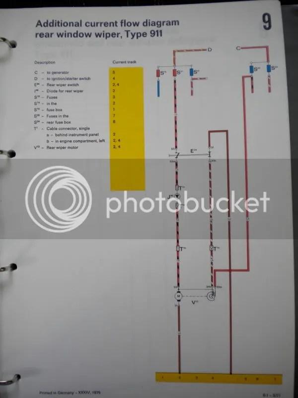 rear wiper motor wiring diagram caferacersjpg com  911 sc rear wiper motor wiring pelican parts technical bbs