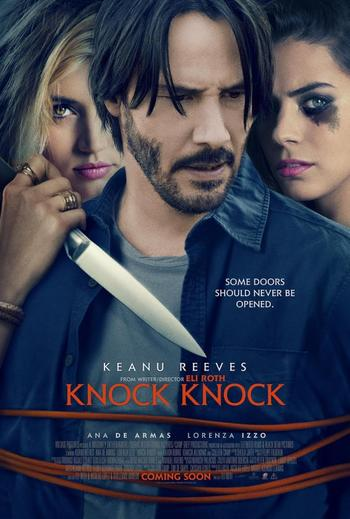 Knock Knock (2015) 720p BRRip x264- REMO