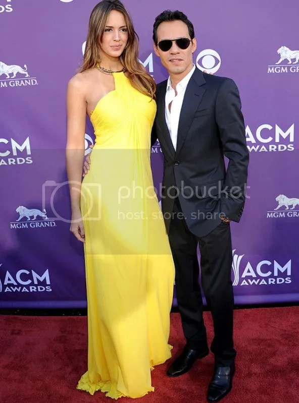 ACM MarcAnthony {Celebs} What They Wore to 2012 Academy of Country Music Awards