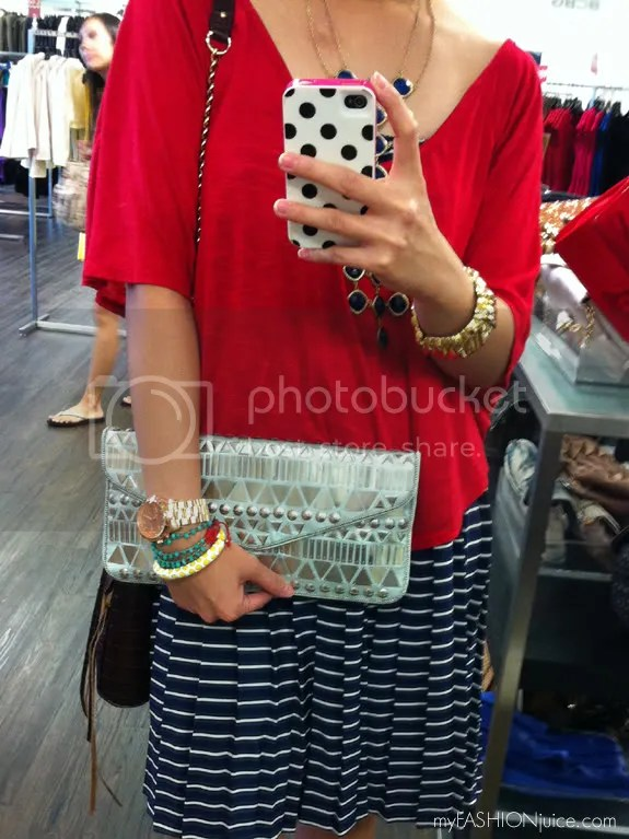 BCBGMaxazria Clutch Party {Weekly Wear} Carefree, Northpark Dallas and a Clutch Party