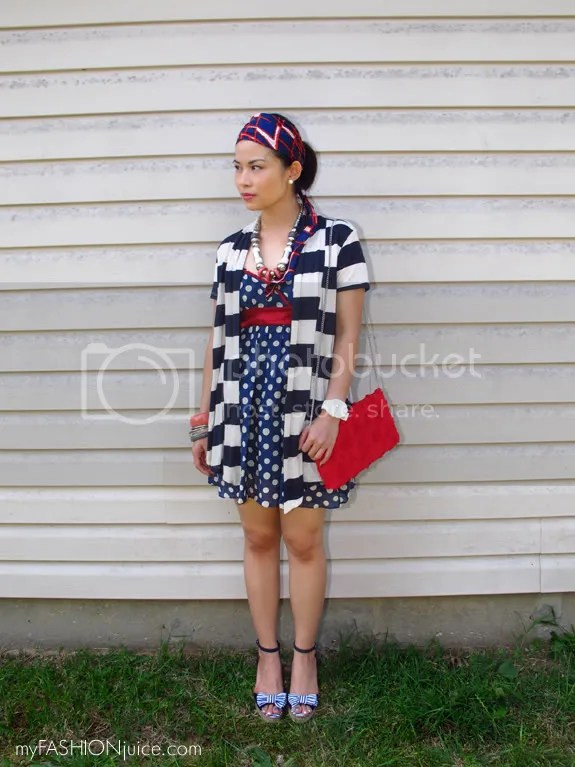 RedWhiteBlueOutfit2 {Weekly Wear} Fourth of July Outfit: Red, White and Blue