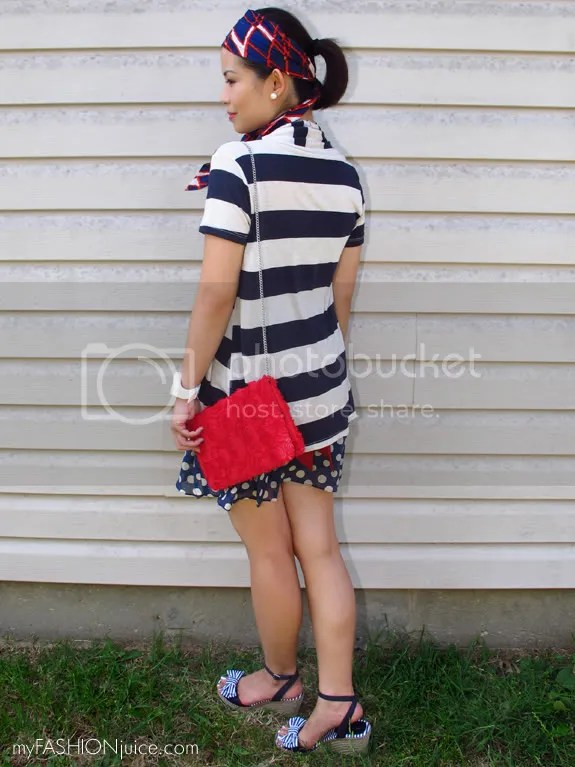 RedWhiteBlueOutfit5 {Weekly Wear} Fourth of July Outfit: Red, White and Blue