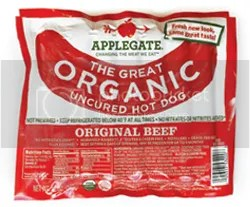 Applegate Farms Organic Uncured Beef Hot Dog