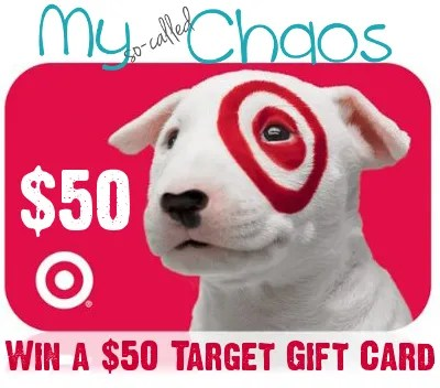 Win a $50 Target Gift Card