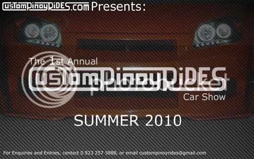 1st Annual CustomPinoyRides Car Show Teaser