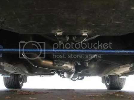 Impreza Underbody with Engine Skid Plate