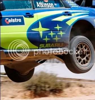 WRC Rally Impreza Underbody