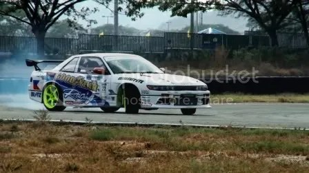 David Feliciano DMF Drift The Great White Nissan S13 Silvia