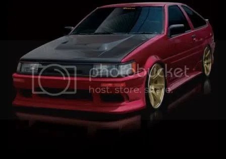 Origin Stream AE86 Levin Body Kit