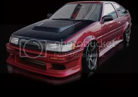 Origin Stylish AE86 Levin Body Kit