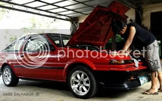 PROJECT 86: Gabe Salvador's Toyota AE86 Trueno pic7
