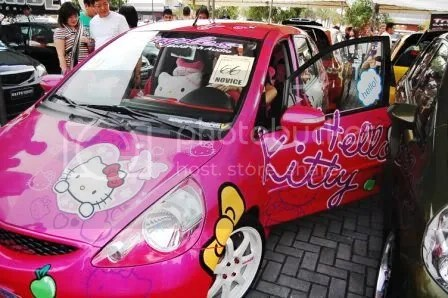 Hello Kitty Honda Jazz 2