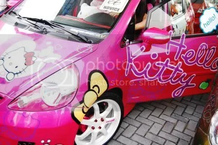 Hello Kitty Honda Jazz 1