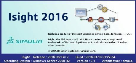 DS SIMULIA Isight 2016 HF2 Win/Linux x64