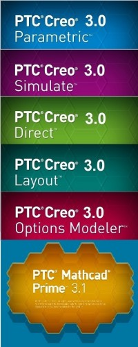 PTC Creo 3.0 M080 + HelpCenter Full Multilanguage Win32/64 2016