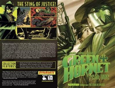 The Green Hornet – Year One v01 – The Sting of Justice (2012)