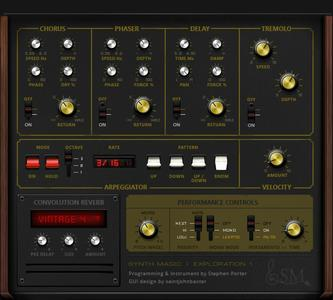 Synth Magic ARP Exploration.1 KONTAKT coobra.net