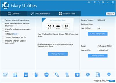 Glary Utilities Pro 5.61.0.82.Multilingual + Portable