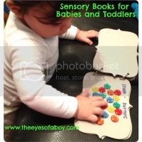 Baby and Toddler Sensory Books - Colors and Textures